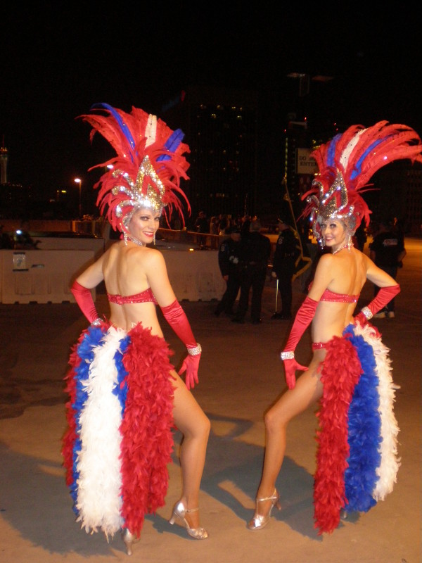 Red, Whte & Blue Showgirls