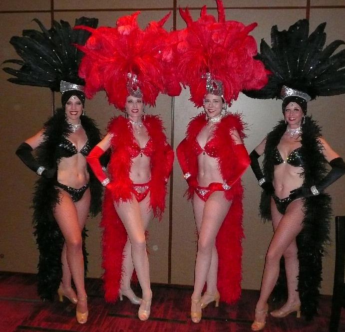 Classic Black Showgirls