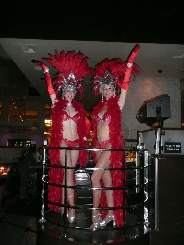 Red & Silver Showgirls