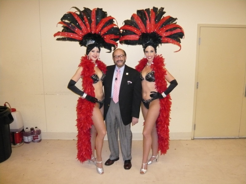 Black & Red Showgirls