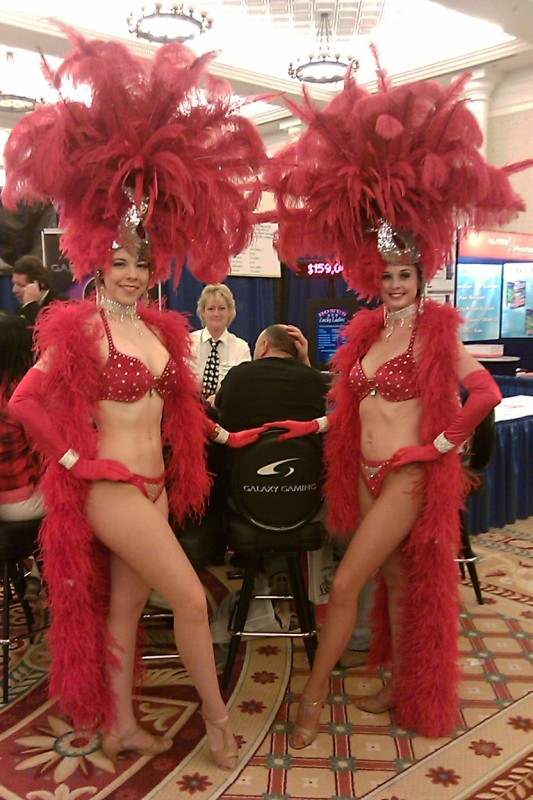 Big Red Showgirl